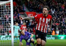 Danny Ings scored twice as Southampton ended Arsenal's 21-game unbeaten run