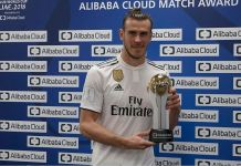 Gareth Bale was named Man of the Match after his heroics