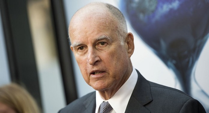 Governor of California, Jerry Brown