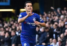 Pedro scored Chelsea's 1000th home goal in the Premier League becoming just the third club to do so after Manchester United and Arsenal