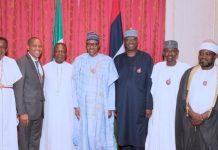 Religious leaders pay homage to President Muhammadu Buhari