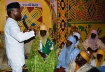 Vice President Yemi Osinbajo met with the Hausa community in Agege