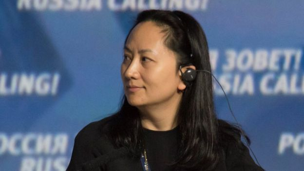 CFO Meng Wanzhou is the daughter of the company's founder