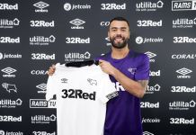 Ex-England defender Ashley Cole last played for Championship side Derby County