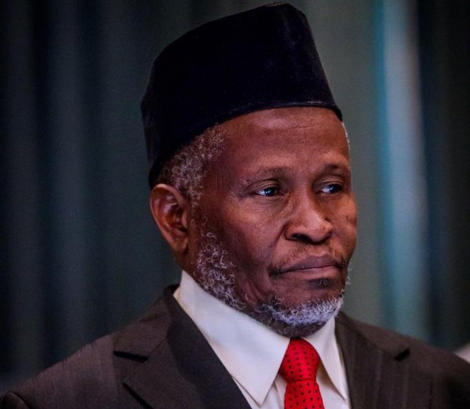 Acting CJN, Justice Ibrahim Tanko Mohammed Petition Tribunal members