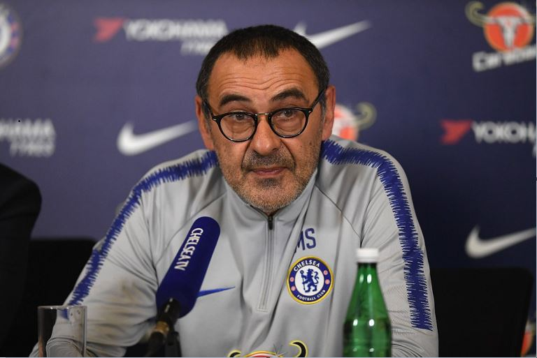 Maurizio Sarri says Gonzalo Higuain is hours away from completing his move to Chelsea