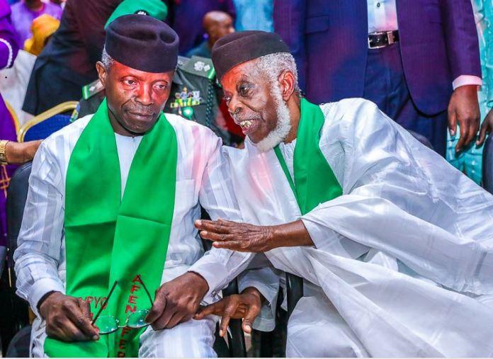 President Muhammadu Buhari and Vice President Yemi Osinbajo have been endorsed by pan Yoruba group, Afenifere Fasanmi