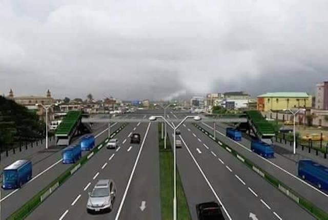 Abidjan-Lagos highway (Illustration)