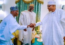 Alhaji Sani Inuwa Nguru , chairman of PDP, pledges allegiance to Buhari and APC