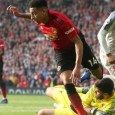 Jesse Lingard played only 17 minutes but had the best chance of the game