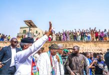 Vice President Yemi Osinbajo was received by mammoth crowds everywhere he went in Ilorin, Kwara State