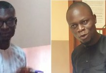 Feranmi Isaiah Akinluyi and Sogo Akinola, a.k.a Obaje have been docked for fraud