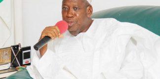 Governor Abdullahi Ganduje of Kano
