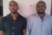 Ibrahim Abba and Isah Magaji has been arraigned for petroleum products dealing
