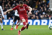 James Milner scores a late goal as Liverpool beat Leicester