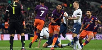 Manchester City beat Tottenham 1-0 in the Premier League in October