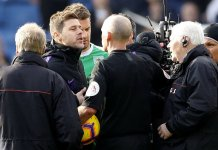 Mauricio Pochettino has been banned after a bust-up with referee Mike Dean