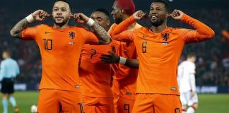 Memphis Depay scored twice as Netherlands beat Northern Ireland 3-1 in a Euro 2020 qualifier