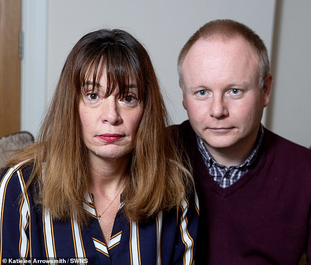 Mr Astin said he was angry when his wife revealed what she had done but he said he never considered leaving her