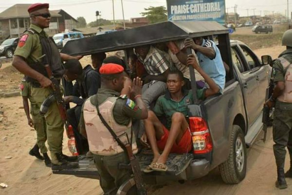 Political thugs arrested by the Kano Police Command