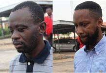 Richard Olatunji and Salvador Olamide have both being arrainged for fraud