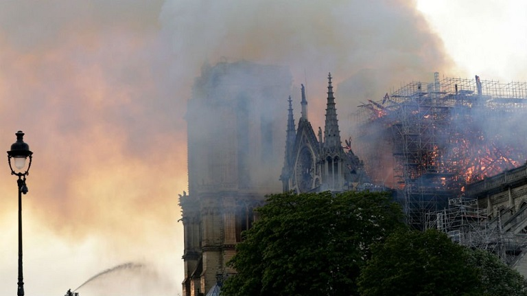Bishop Eric de Moulins-Beaufort says it will take years to rebuild Notre Dame cathedral