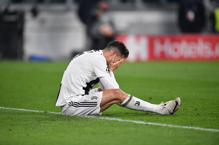 Juventus shares have dropped after Ajax beat the Italian giants 3-2 on aggregate at the Allianz Stadium