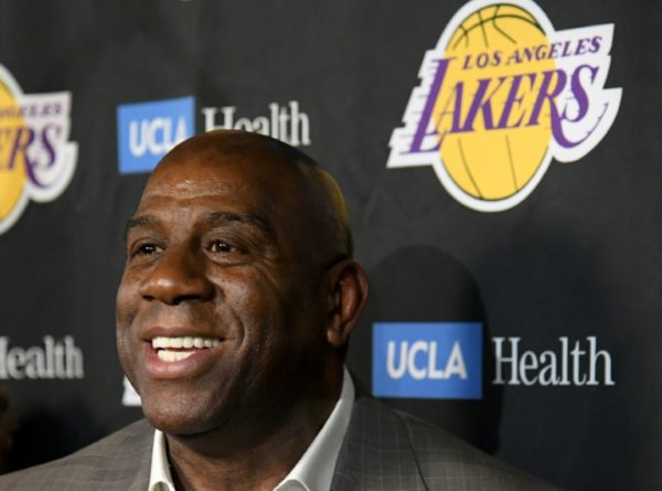 Magic Johnson was Lakers president for two years