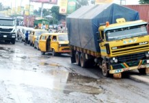 Poor state of Lagos roads has caused pains to residents