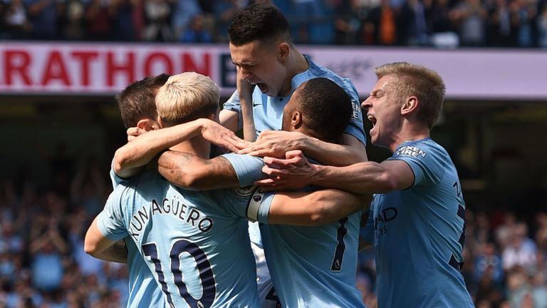Foden fires nervy citizens to top of the league