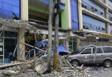 6.8 magnitude earthquake rocks southern Philippines