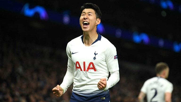Son Heung-min scored to give Tottenham first leg advantage