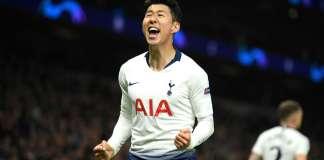 Son Heung-min scores twice as Tottenham beat Aston Villa 3-2 in five goal thriller