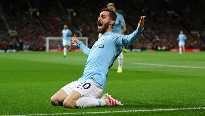 Bernado Silva scored one and made another as Man City beat Man Utd 3-1 at Old Trafford