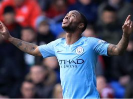 Raheem Sterling scored again as Manchester City beat Aston Villa
