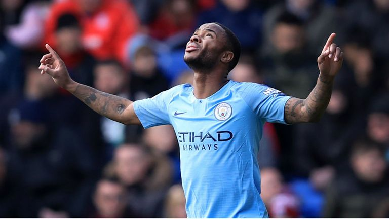 Raheem Sterling in superb form for Manchester City