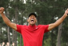 Tiger Woods wins first major title since 2008