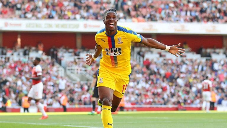 Zaha on target as Palace beat Arsenal at the Emirates