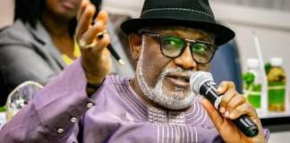 Governor Rotimi Akeredolu has sacked three commissioners in Ondo