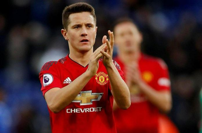 Ander Herrera will leave Manchester United at the end of the season