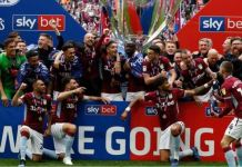 Aston Villa have been promoted to the Premier League after defeating Derby County