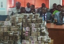 Bribe money offered to INEC officials during the 2019 election