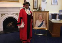 Councillor Victoria Obaze, now Mayor of London Borough of Tower Hamlets