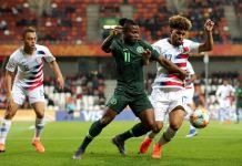 Flying Eagles lost to USA in their second group match at the ongoing under 20 tournament in Poland