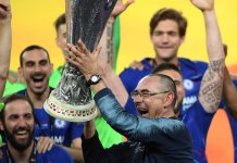 Maurizio Sarri has won his first silverware as a manager