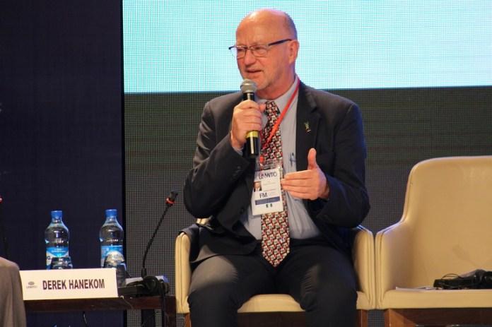 South Africa Minister Of Tourism Derek Hanekom