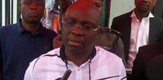 Former Ekiti governor, Ayodele Fayose