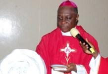 Catholic Archbishop Alfred Adewale Martins