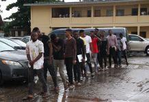 EFCC has arrested 27 fraudsters in Ogun state