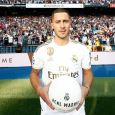 Eden Hazard unveiled at Real Madrid